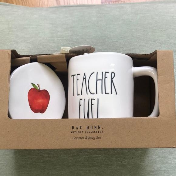 NIB Adorable Rae Dunn Teacher Mug Set